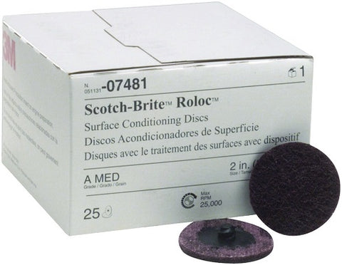 Scotch Brite Roloc Surface Conditioning Disc