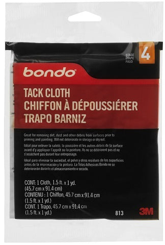 Bondo Tack Cloth