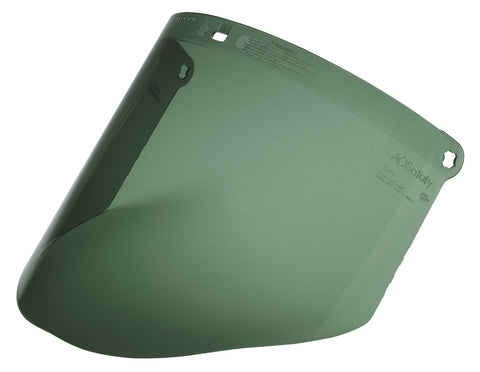 Faceshield Dark Green