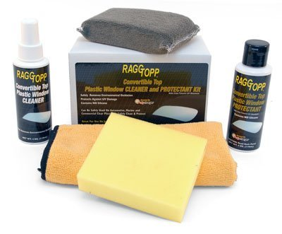 Plastic Window Cleaner and Protectant Kit