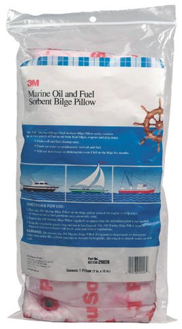 Marine Oil and Fuel Absorbent Bilge Pillow