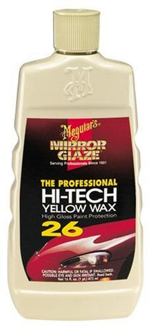 Mirror Glaze Hi-Tech Yellow Wax