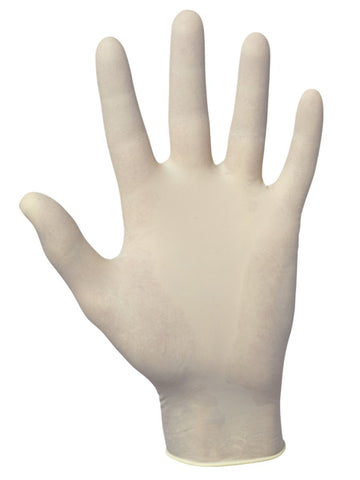 Value-Touch Disposable Latex 5 Mil Gloves Large