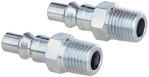 "1/4"" MNPT A Style Plug, 2-Pack"