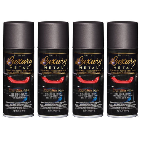 Luxury Metal Rubber Coating, 4 Cans