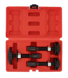 Pneumatic SAE Rear Axle Bearing Puller Service Removal Tool Kit Set