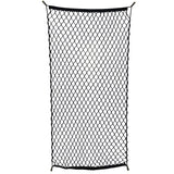 "Cargo Net with 16 Durable Nylon Hooks 24"" x 45""- Stretches to 60"" in Length"