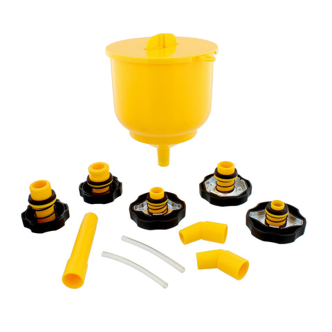 Coolant Funnel Kit Radiator Coolant Flush Kit Radiator Funnel Fill Kit