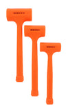Dead Blow Hammer Mallet 3-Piece Set