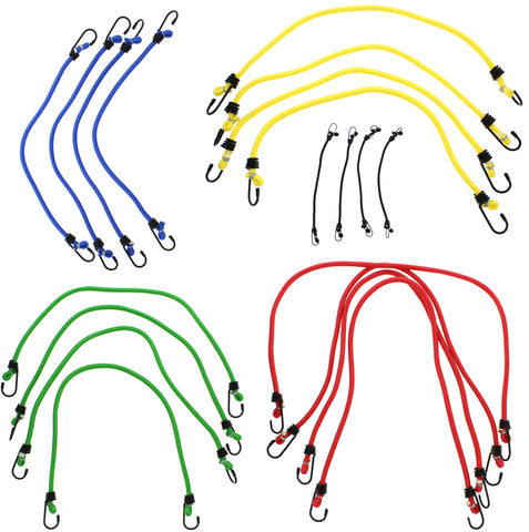 Heavy Duty Asssortment Bungee Cord Straps