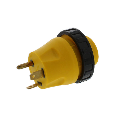 RV Power Cord Electrical Locking Adapter 30A Male to 30A Female