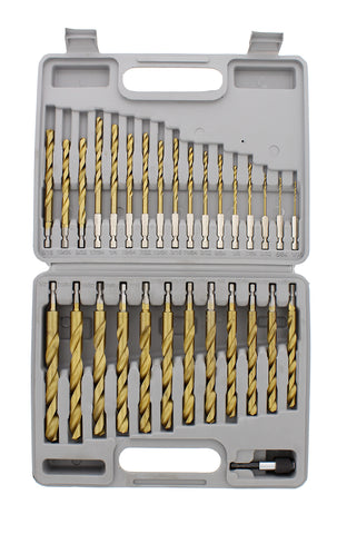 "Quick-Change 1/4"" Inch Hex Shank Drill Bits from 1/16"" to 1/2"""