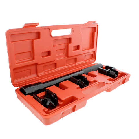 "1/2"" Inner Tie Rod Removal Tool Kit Tie Rod Puller Tool and Adapters"