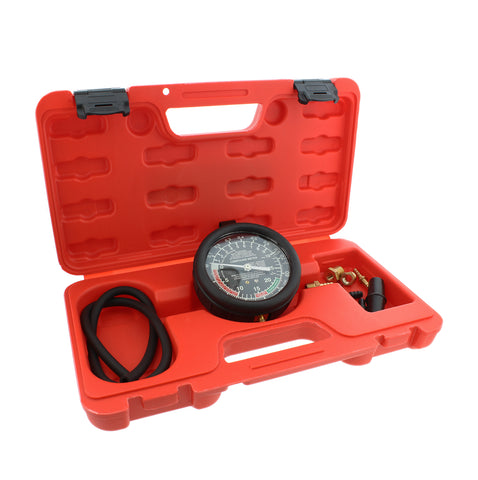 Carburetor Vacuum and Fuel Pump Pressure Tester Gauge Test Kit