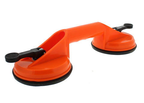 Heavy Duty Double Suction Cup for Glass, Windshields, and Dent Pulling