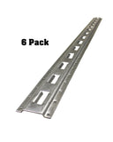 5' Foot Vertical Tiedown E Track Accessories Cargo Rails 6-Pack