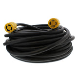 30 AMP RV Power Cord Generator Transfer Switch 100' Ft Extension Cable