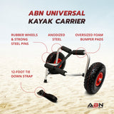 Universal Boat Carrier for Kayaks, Canoes, Paddleboards, and Jon Boats
