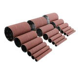 "Aluminum Oxide Wood Sanding Sleeves 18-Pack 4.5"" Inch Long Sandpaper"