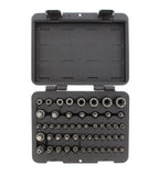 Master Star Torx Bit Socket 52-Piece Set – SAE 4-Point Square Drive