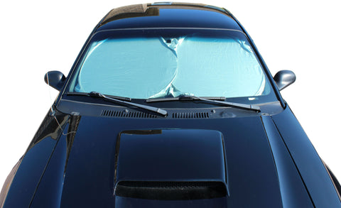 "Front Window Windshield Sun Shade – Jumbo Car Sun Shade 30"" x 63"" Inch"