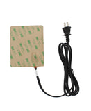Silicone Heating Pad 120V - 4 x 5IN Universal Engine Heater Pad, 150W
