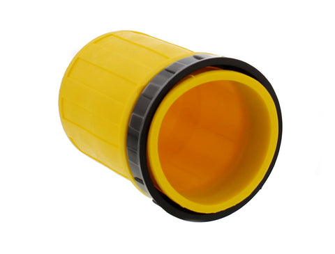 RV Cord Plug Cover - 50A Weatherproof Cord Connector Cover, Yellow