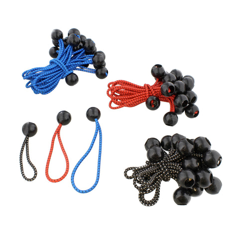 Bungee Ball Fastener Tarp Ball Bungee Cords Canopy Bungee 60-Pack