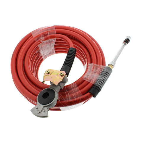 50' Foot Long Air Compressor Hose 3/8 Air Hose PVC Compressor Hose