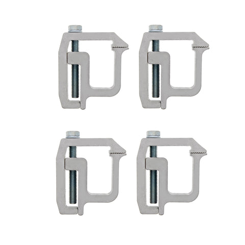 Truck Topper Clamps - 4 Pack Canopy and Truck Cap Mounting Clamps