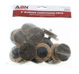 "Surface Conditioning Discs - 2"" Inch Coarse Grit, 25-pack"