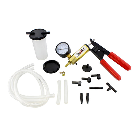 Brake Bleeder Kit Universal Vacuum Pump Bleeding Auto Service Set