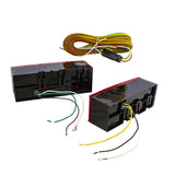 Rear Trailer Lights LED Kit - 3pc LED Brake Lights Trailer Wiring Kit