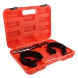 Ratchet Compressor Tool Engine Piston Ring Service Tool Set 2.9-4.4in