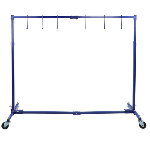Adjustable 7 Foot Paint Hanger - Extendable 50-70-Inch Painting Rack