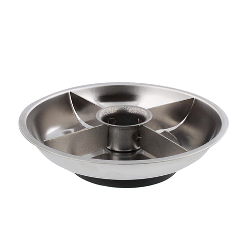 Automotive Magnetic Tray Small Parts Dish 6in Metal Magnet Bowl Holder