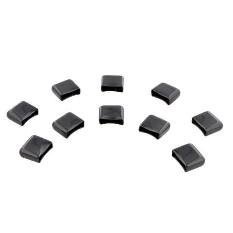 End Caps for Socket Rail Set Aluminum Socket Holder Caps Only 10-Pack