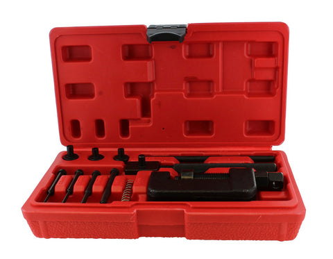 Chain Breaker 13-Piece Set – Motorcycle, Bike Chain Cutter and Riveter