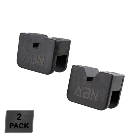 Rubber Slotted Jack Stand Pads Pinch Weld Jack Adapter 2-3 Ton 2-Pack