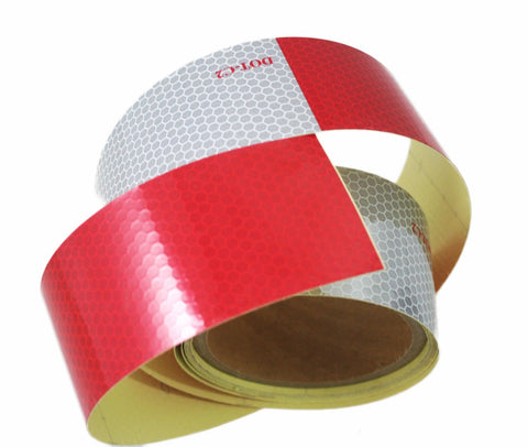 Trailer Conspicuity DOT-C2 Reflective Tape