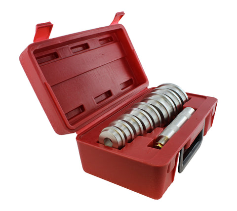 Master Wheel Bearing Race and Seal Bush Driver Set with Carrying Case