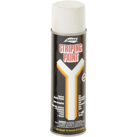 710 White Line Striper Spray Paint - Lot of 12