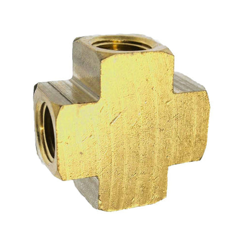 Brass Cross Fitting