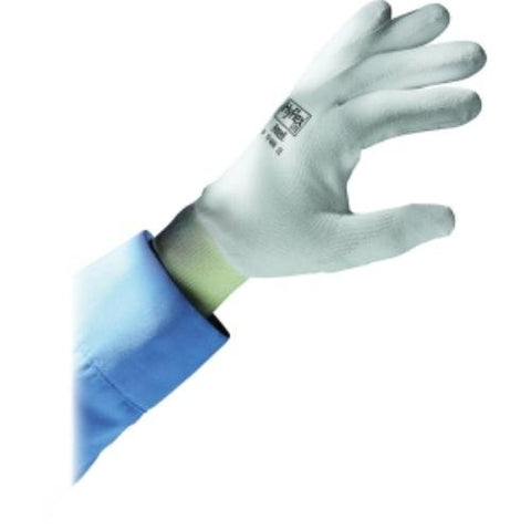 Nylon Polyurethane Gloves, Medium, 12 Pairs
