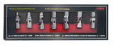 Flex Socket Set, 6 Point- SAE