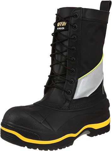 Men's Constructor Work Boot,Black/Hi/Viz,10 M US