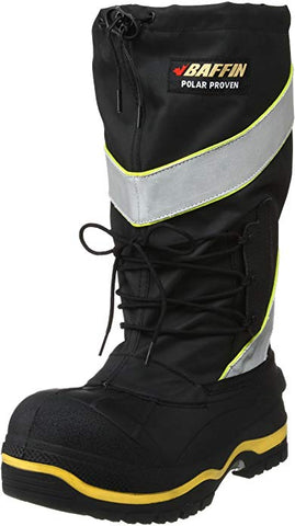 Men's Derrick Work Boot,Black/Hi/Viz,9 M US