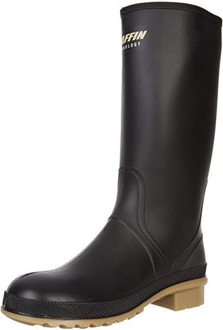Women's Prime Rain Boot,Black/Amber,7 M US