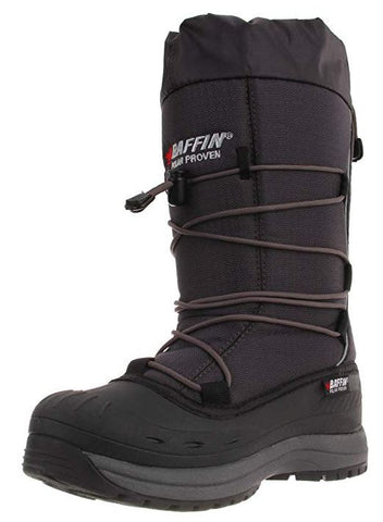 Women's Snogoose Insulated Boot,Charcoal,10 US