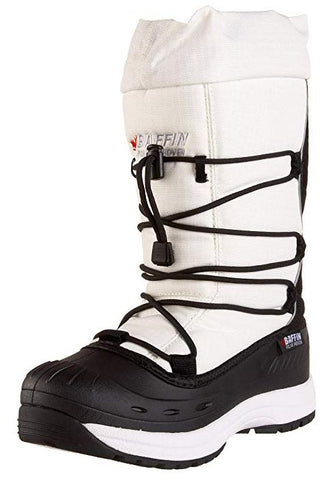 Women's Snogoose Insulated Boot,White,9 US